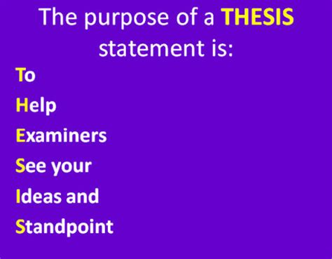 Masters thesis proposal psychology